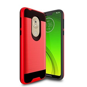 (2F) MOTO G7 POWER BRUSHED METAL - RED