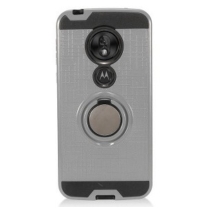(2F) MOTO G7 PLAY METAL RING STAND - GRAY