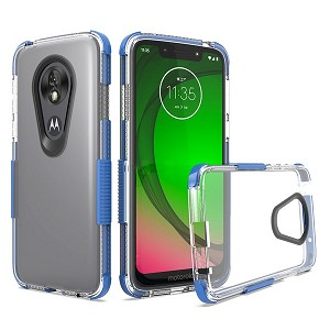 (2F) MOTO G7 PLAY SHOCK EDGE TPU - BLUE