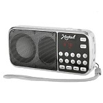 (MA) PORTABLE MULTI FUNCTION MP3 FM/AM H1-AM SPEAKER - WHITE