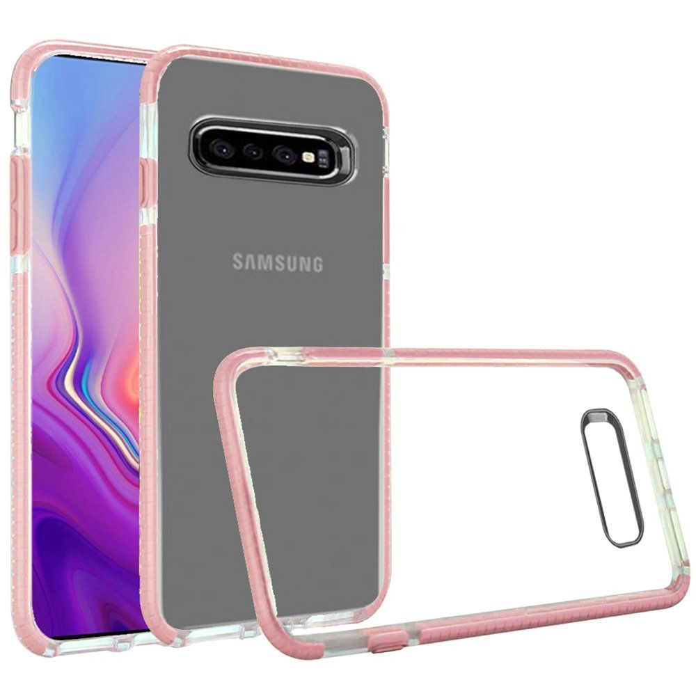 "(1H) SAMSUNG S10E (5.8"") PRIME ULTRA THIN TRANSPARENT TPU CASE - ROSE GOLD (RETAIL PACKED)"