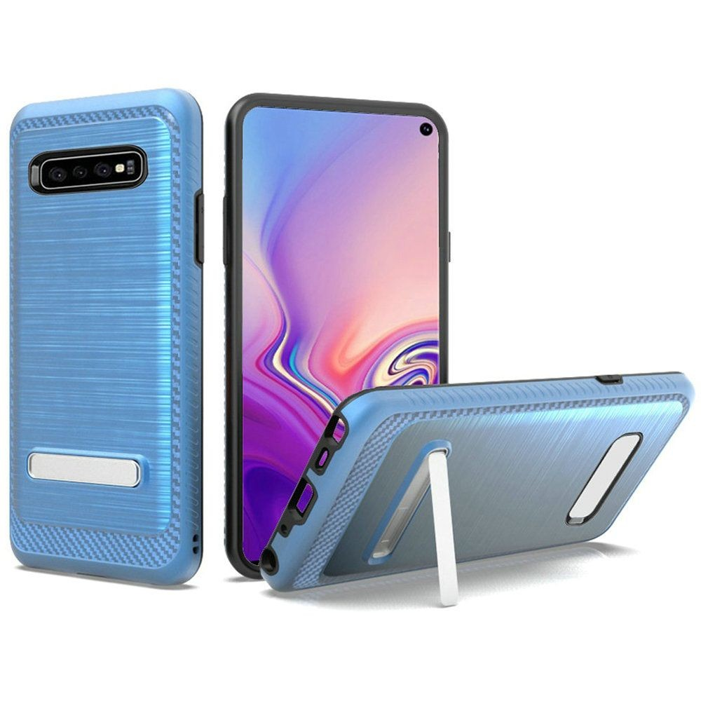 "(1H) SAMSUNG S10E (5.8"") BRUSHED METAL STAND - DARK BLUE"